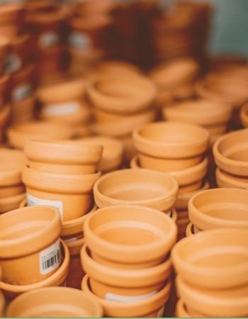 Chácara Flor da Suissa - Vasos de Cerâmica