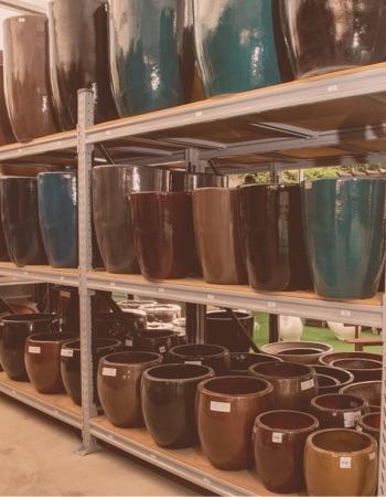 Chácara Flor da Suissa - Vasos de Fibra de Vidro