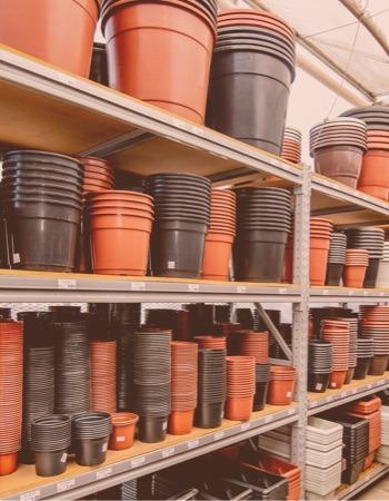 Chácara Flor da Suissa - Vasos de Plástico