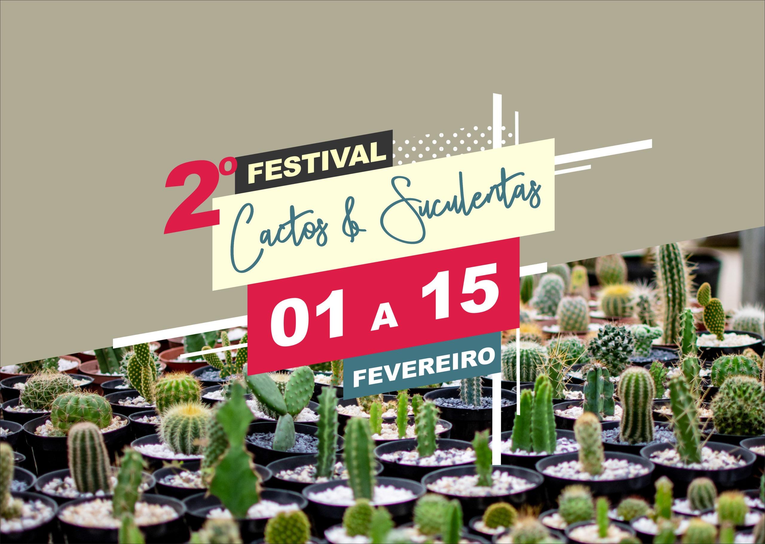 Festival de Cactos e Suculentas